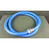 "Tigerflex 1-1/2"" ID LOW-TEMP PVC WATER SUCTION HOSE ASSEMBLY - 12 FT NEW"