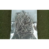"50 New Safety Pins Size 3 2"" Lot of 50"