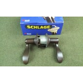 Schlage F40 ACC 613 Privacy Locking Lever Set RH Oil Rubbed Bronze