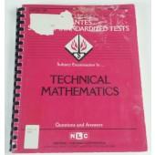 TECHNICAL MATHEMATICS (DSST Dantes Subject Standardized Tests) (Passbooks)