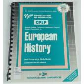 EUROPEAN HISTORY (College Proficiency Examination Program Series) (Passbooks) (Regents College Proficiency Examination Series)