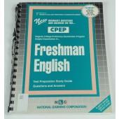 FRESHMAN ENGLISH (College Proficiency Examination Program Series) (Passbooks) (Cpep-11)