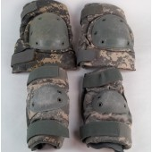 Bijan's Knee and Elbow Pad Set Small Military Issue Digital ACU Used