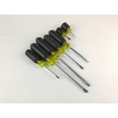 Stanley USA 7pc Soft Grip Screw Driver Set
