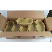 Plastic Emesis Bowl 500cc 16oz Disposable Box of 250