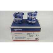 "Gypsona S 30-7372 Fast Setting Plaster of Paris Blue Label  2"" x 3yd Box of 12"