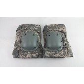 New Bijan's Military Issue Knee Pads Digital ACU Size Large