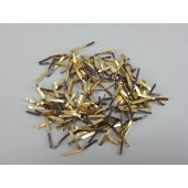 48 Grams Scrap Gold Plated Pins 80's 90's Phone System