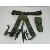 Bianchi M-12 Holster With ALICE Belt and Suspenders