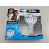 Health o Meter Bathroom Scale Stainless Steel Oversized Dial Scale