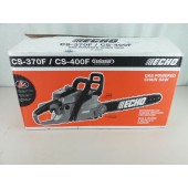 "Echo CS400F-18 40.2CC, 18"" Chainsaw, i-30 Starting, FasTension™ System"