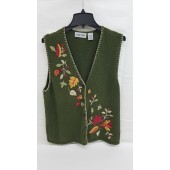 Cabin Creek Ladies Fall Sweater Vest XXL