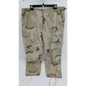 US Army Issue DCU Camo Hot Weather BDU Combat Pants Large Short