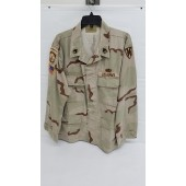 US Army Issue DCU Camo Hot Weather BDU Shirt Coat Large Reg.