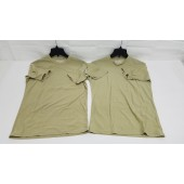 Dri-Duke Moisture Control Shirts 2 Short Sleeve Tan Size X-Large
