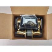 Schlage F10 ACC 505 605 Wakefield Accent Passage Lever, Bright Brass RH