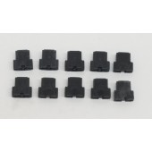 Alps SKCM Black Switch Slider OEM Replacement Lot of 10