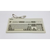 Vintage DELL AT101W PS/2 Mechanical Black Alps Keyboard GYUM92SK