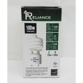 60 Pack Spiral CFL Fluorescent 23 Watt =100W Twist and Lock GU24 2700K Warm White