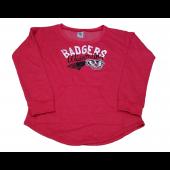 Knight Apparel Wisconsin Badgers Women's Sweatshirt Jersey Size Small 4/6