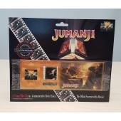 NEW 1995 Jumanji Cinemaclips 35mm Film Clip Movie Ticket