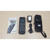 NOKIA Model 100 Type THA-9 Vintage Cell Phone With Ac-Adapter, Manual, Cover