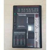 Toshiba KT-4036 Vintage Portable AM/FM Cassette Player For Parts
