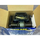 Schlage F51 ACC613 Keyed Entrance Lockset Oil Rubbed Bronze  Right Hand