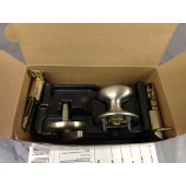 SCHLAGE Single Cylinder Handleset Siena Inside Trim Satin Nickel F359-SIE-619