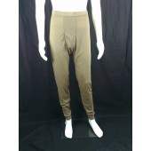U.S. Military PECKHAM ECWCS Gen II Layer 1 Bottoms Size Small Coyote Brown