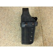 Gould & Goodrich X341 Triple Retention Belt Holster LH Beretta 92,96 Nylon Black