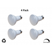 Reliance R20 LED Bulb DImmable Flood 8W 550lm 2700K 60W Equal 4-Pack
