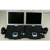 Lot of 2 ViewSonic TPCV1250S Tablet PC's (For parts)