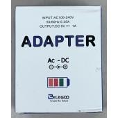 Elegoo American Plug 9V 1A AC-DC Adaptor for Arduino