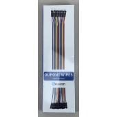 Elegoo 120pc Dupont Wire Breadboard Jumper Set for Arduino