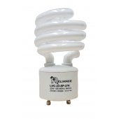 Reliance 23W GU24 CFL Spiral Light Bulb 2700K 23W = 100W Equivalent 2 Pack