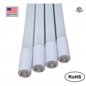 "G13 2FT LED Tube Light Lamp Bulb T8 Rotatable 2 Foot 24"" Inch 8W 4500K Natural White Milky"